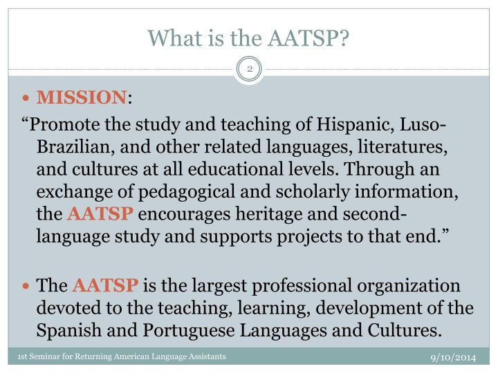 What is the aatsp