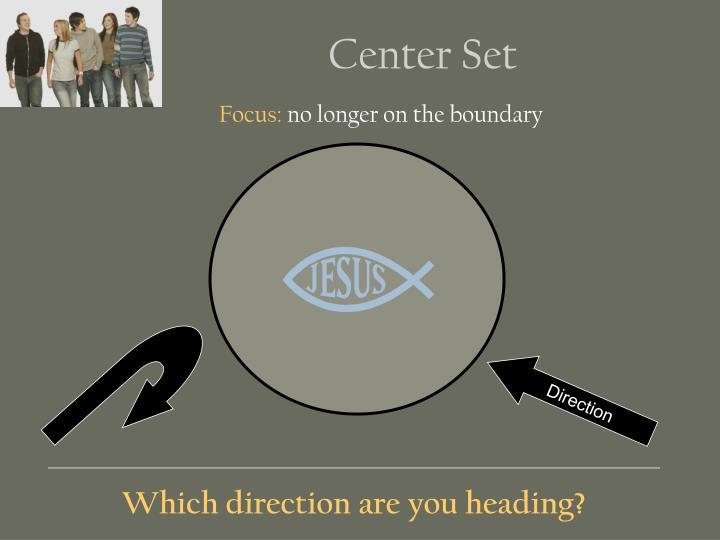 Center Set