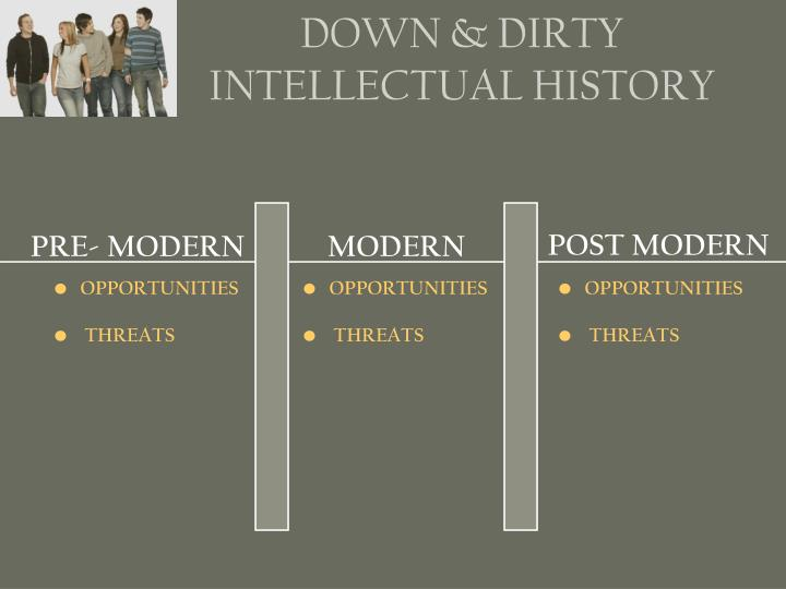 DOWN & DIRTY INTELLECTUAL HISTORY