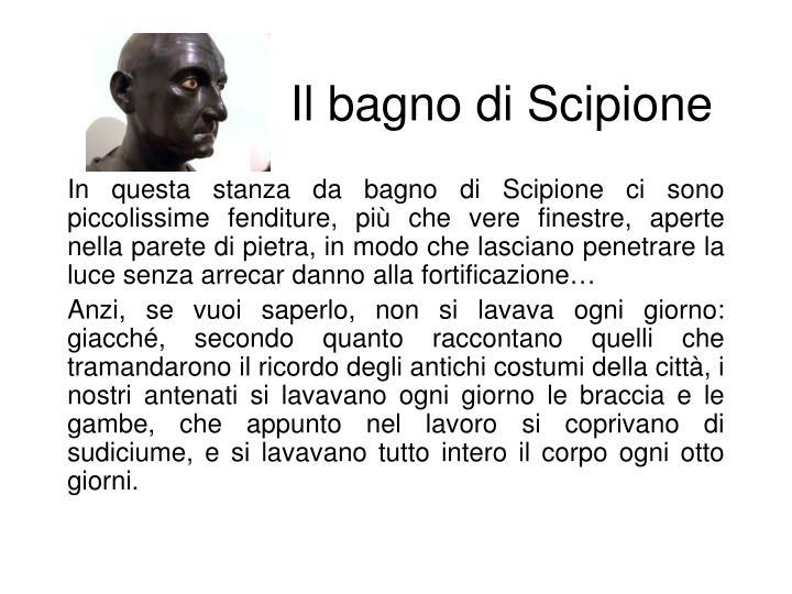 Il bagno di Scipione