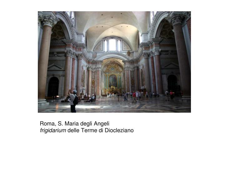 Roma, S. Maria degli Angeli