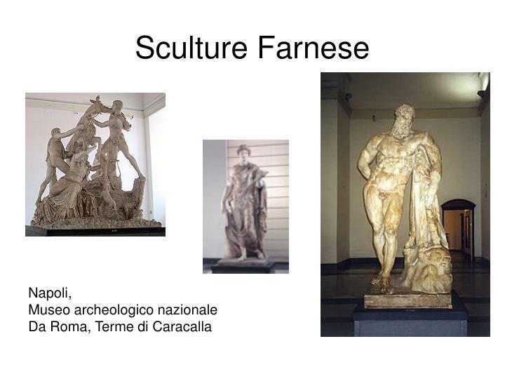 Sculture Farnese