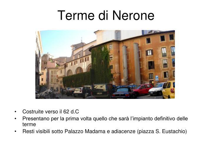Terme di Nerone
