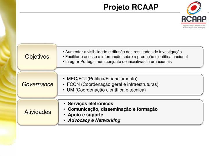 Projeto RCAAP