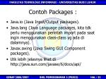 contoh packages
