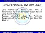 java api packages java class library