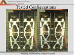 tested configurations