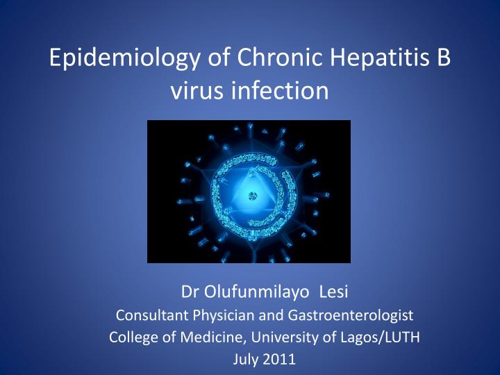 a paper on the hepatitis viral infection