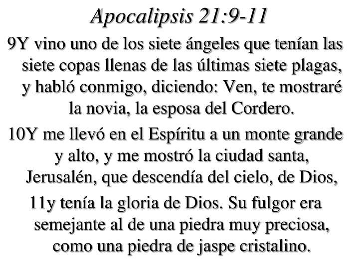 Apocalipsis 21 9 11