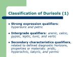 classification of durisols 1