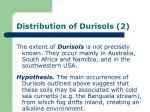 distribution of durisols 2