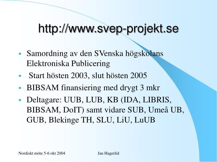 http://www.svep-projekt.se