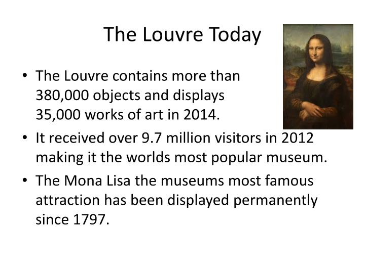 The Louvre Today