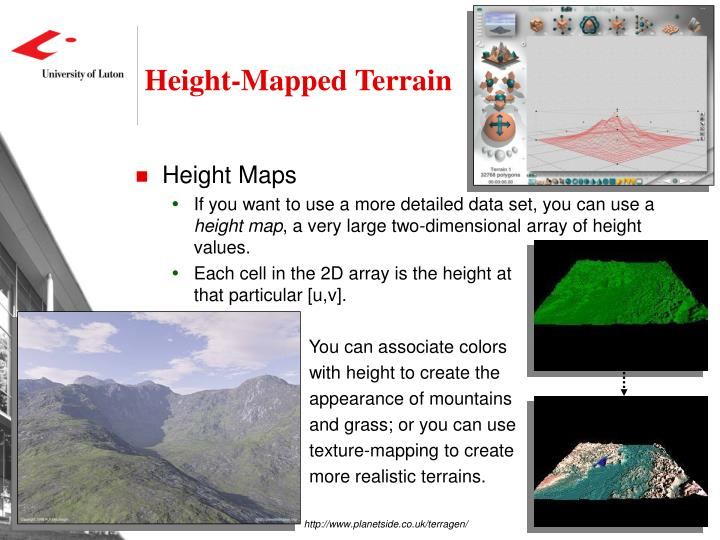 Height-Mapped Terrain