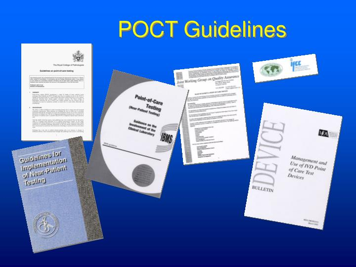 POCT Guidelines