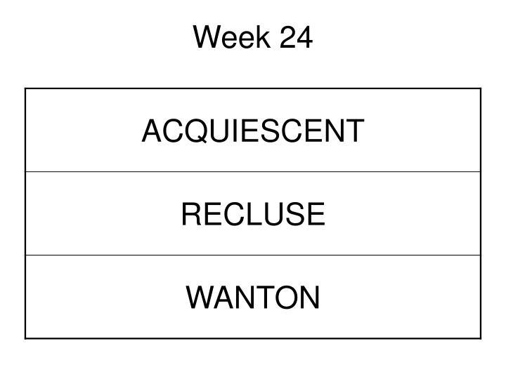 Week 24
