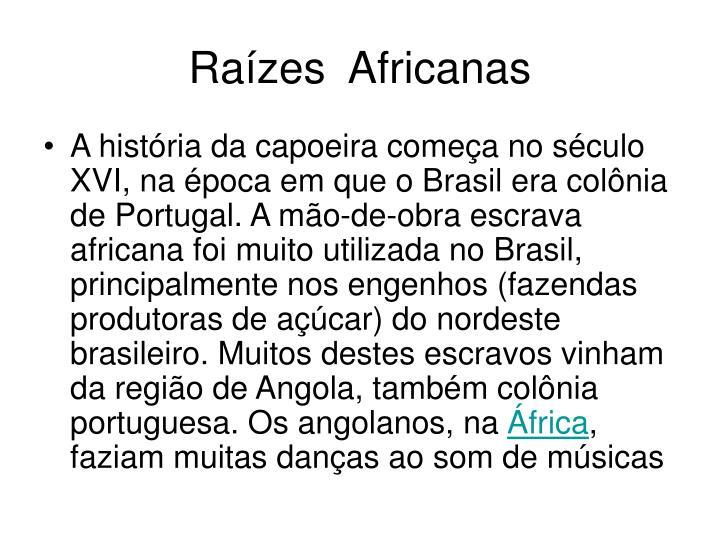 Ra zes africanas