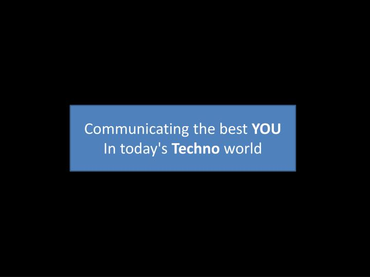 Communicating the best