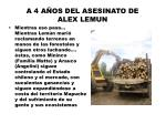 a 4 a os del asesinato de alex lemun10