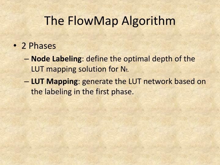 The FlowMap Algorithm