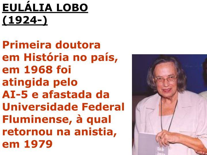 EULÁLIA LOBO