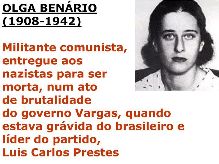 OLGA BENÁRIO