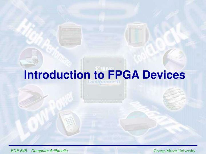 introduction to fpga devices n.