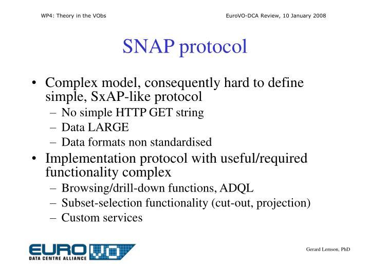 SNAP protocol