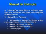 manual de instru o