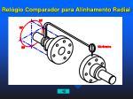 rel gio comparador para alinhamento radial