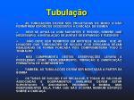 tubula o