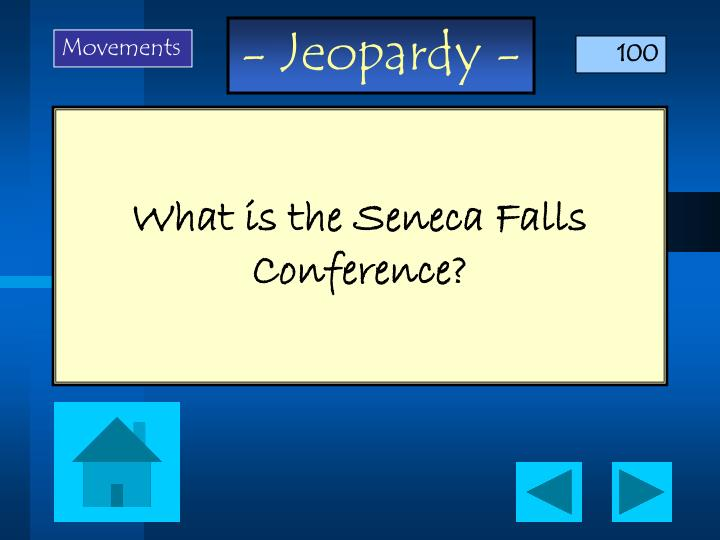 What is the seneca falls conference
