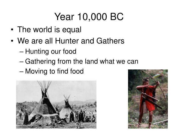 Year 10,000 BC