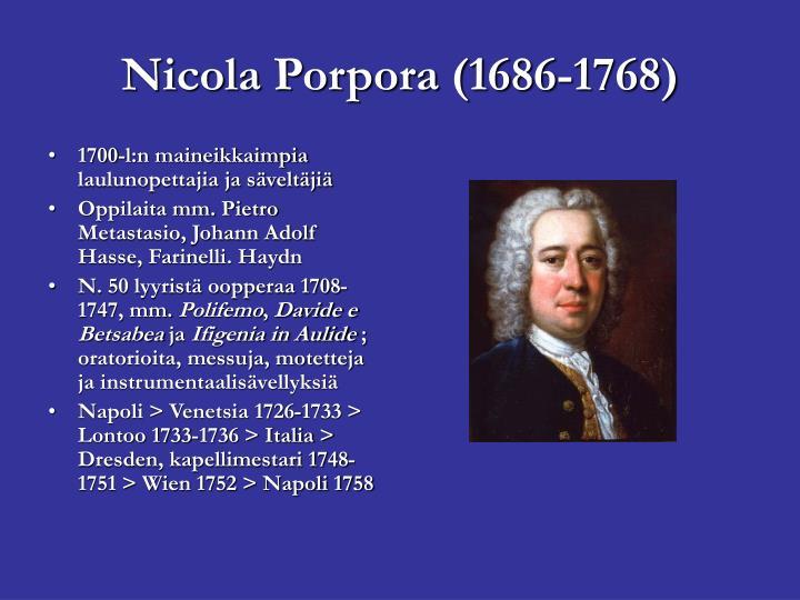 1700-l:n maineikkaimpia laulunopettajia ja säveltäjiä