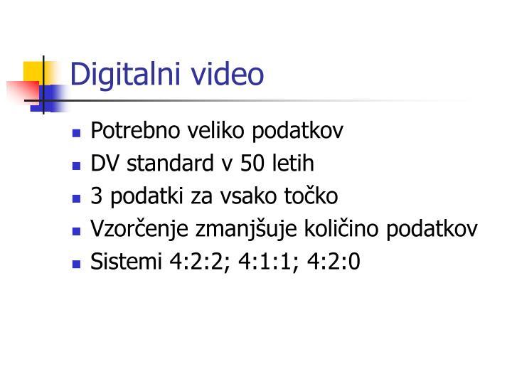 Digitalni video