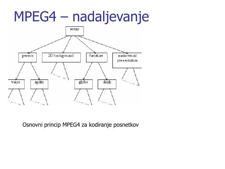 MPEG4 – nadaljevanje