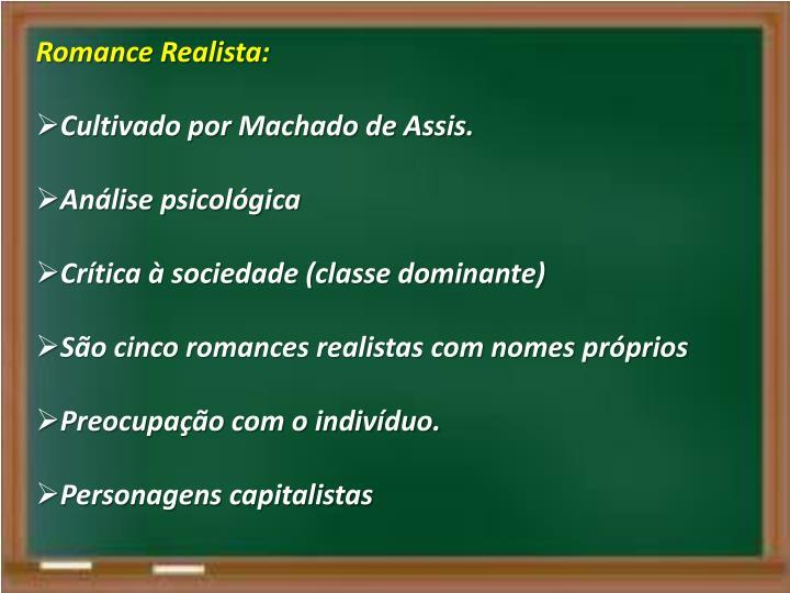 Romance Realista: