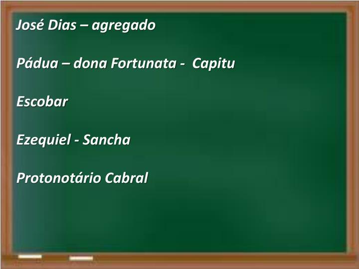 José Dias – agregado