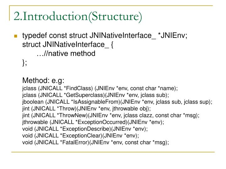 2.Introduction(Structure)