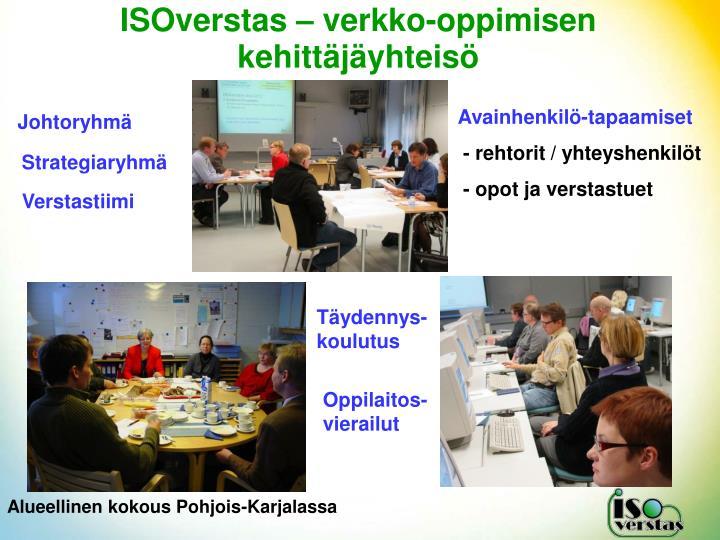 ISOverstas – verkko-oppimisen kehittäjäyhteisö
