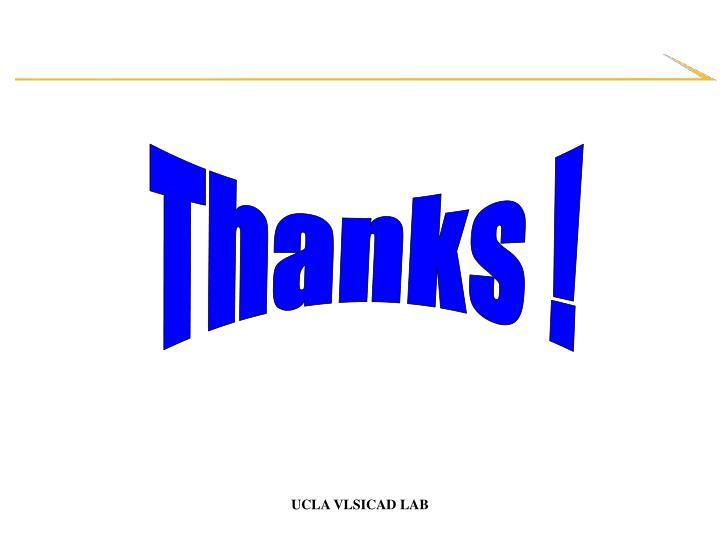 Thanks !