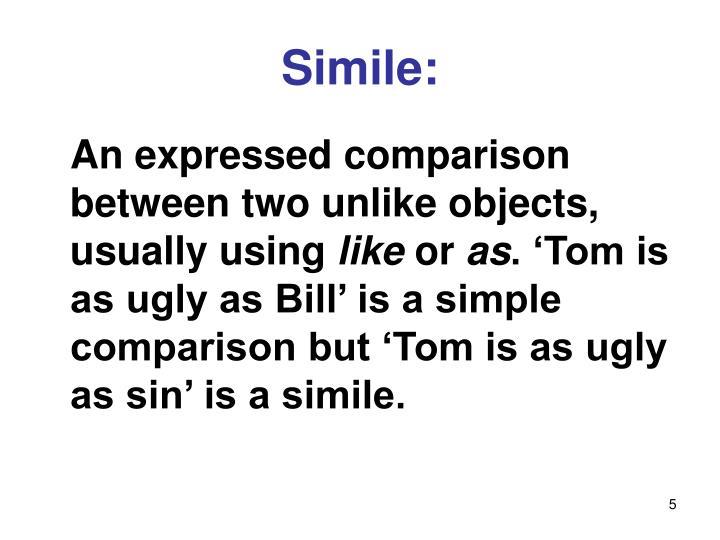 Simile:
