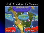 north american air masses