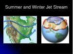 summer and winter jet stream