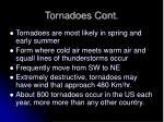 tornadoes cont
