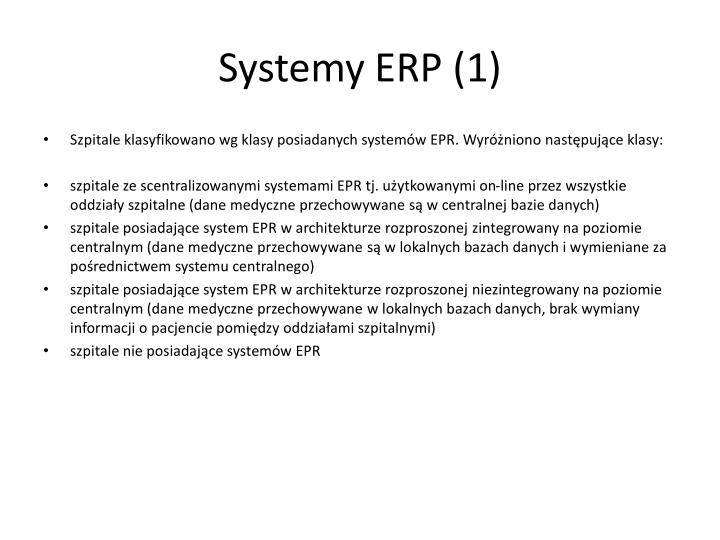 Systemy ERP (1)