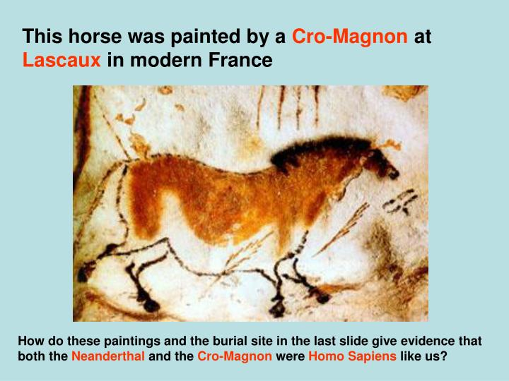 This horse was painted by a