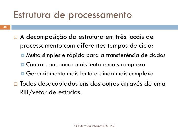 Estrutura de processamento
