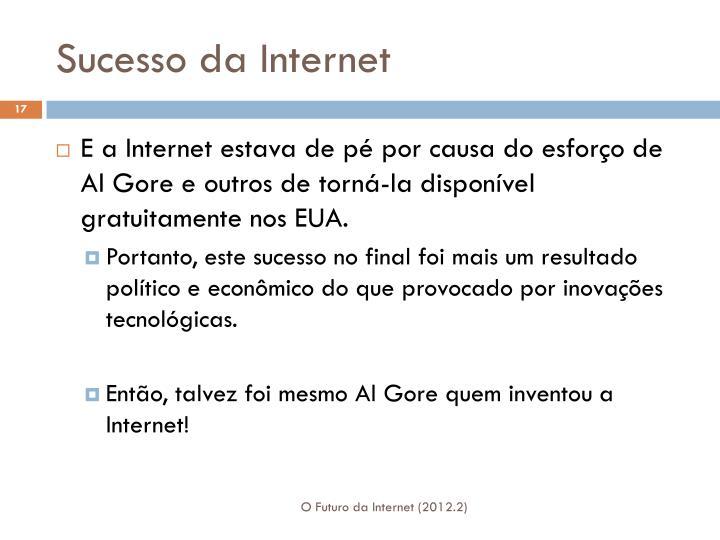 Sucesso da Internet