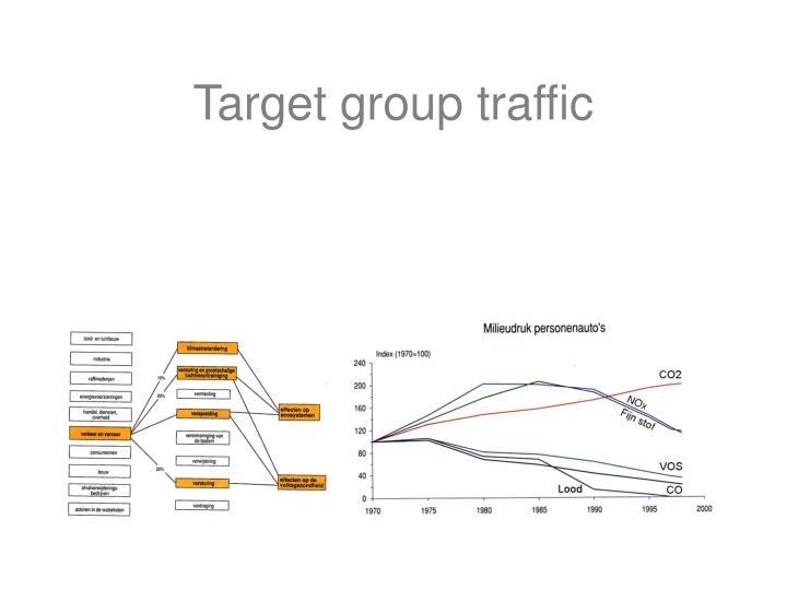 Target group traffic